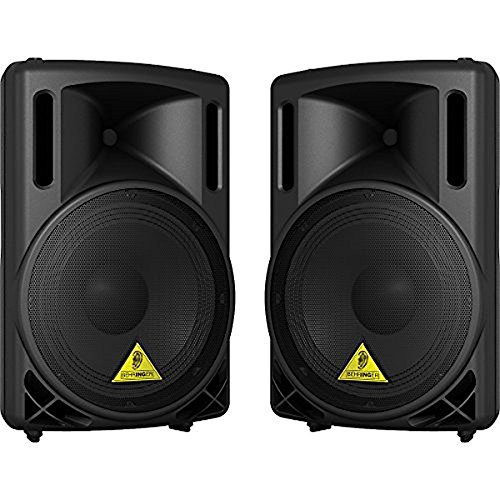 12' 2 Way Loudspeaker System - Behringer EurOlive B212XL 800-Watt 2-Way PA Speaker System with 12 Woofer And 1.75 Titanium Compression Driver (Black)