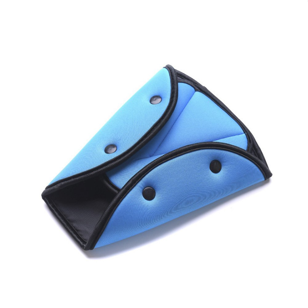 Comfortable Seat Belt Adjuster Car Child Safety Cover Harness Triangle Pad Cover