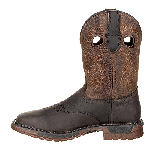 Original Western Dark 111 FLX Ride Boot Brown Men's Rocky qnF4Op5H4
