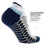 Balega Silver No Show Socks for Men and Women