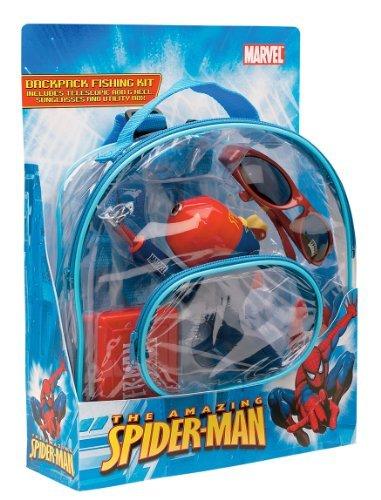 Shakespeare Spiderman Backpack Kit Combo by Shakespeare