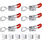 Toggle Latch Clamp 4001,100Kg 220Lbs Holding Capacity (6PCS)
