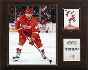 NHL Henrik Zetterberg Detroit Red Wings Player Plaque