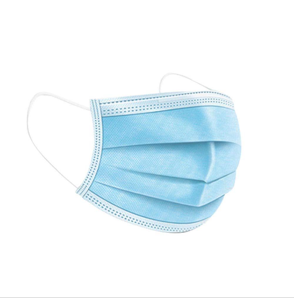 Máscaras civiles protectoras desechables de 3 capas, máscaras diarias no tejidas, 50 máscaras antipolvo: precio de una máscara