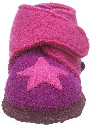 NangaStern - Zapatillas de casa Bebé-Niños Varios Colores - Mehrfarbig (Beere 27)