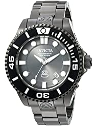 Invicta Mens Pro Diver Stainless Steel Automatic Watch, Color:Black (Model: 19811)