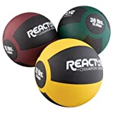 Reactor 30 lb Rubber Medicine Ball - Green