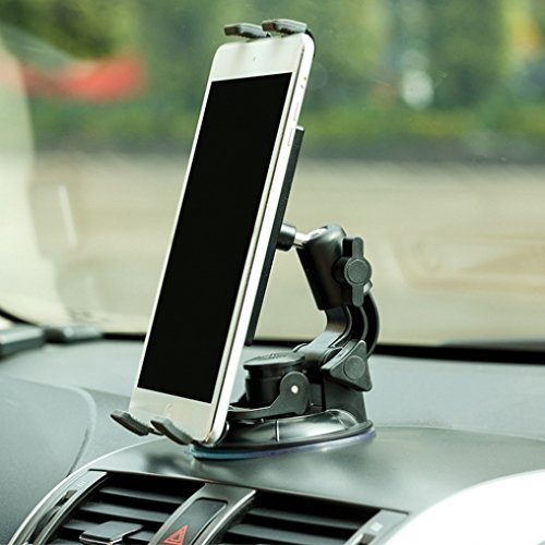 (Heavy Duty Premium Car Mount Dash Windshield Tablet Holder Dock for T-Mobile LG G Pad F 8.0 - T-Mobile Samsung GALAXY Tab 2 (7.0) - T-Mobile Samsung Galaxy Tab 7 SGH-T849)