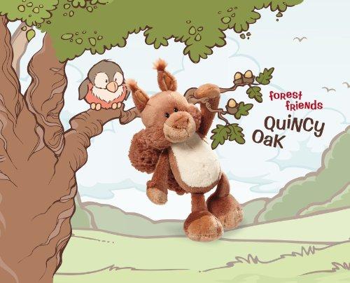 Nici 33435 - Spielkoffer Eichhörnchen Quincy Oak 22x17x9,5 cm