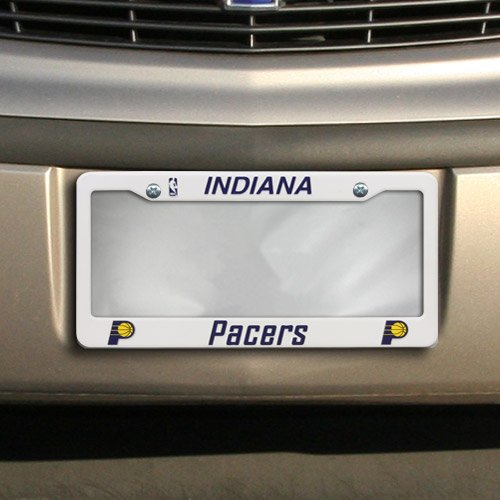 NBA Indiana Pacers Plastic License Plate Frame - Natural