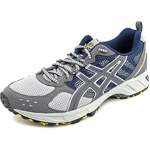 Leather Trail Running Shoe - 5