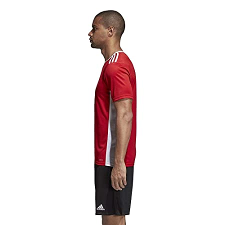 Amazon.com: adidas Entrada 18 Jersey - Adult - Red/White - XX-Large: Sports & Outdoors