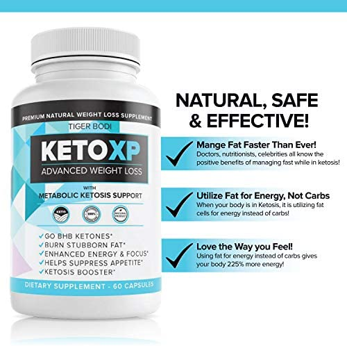(2 Pack) Keto XP Pills, Keto XP Advanced Weight Management Capsules 800 mg, Pure Keto Fast Supplement for Energy, Focus - BHB Ultra Boost Exogenous Ketones for Rapid Ketosis for Men Women 5