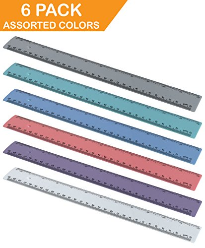 Acrimet Ruler Inches Solid Assorted product image
