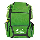 Latitude 64 Golf Discs DG Luxury E3 Backpack Disc Golf Bag - Green/Black