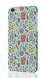 Girly Sleepover Pattern Image - Protective 3d Rough Case Cover - Hard Plastic 3D Case - For iphone 5c-