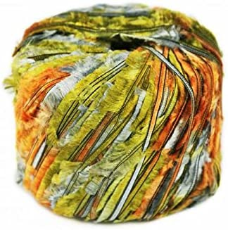 EuroYarns Xanadu - Color 31, negro, cazador, naranja: Amazon.es ...