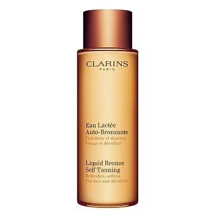 clarins self tan face
