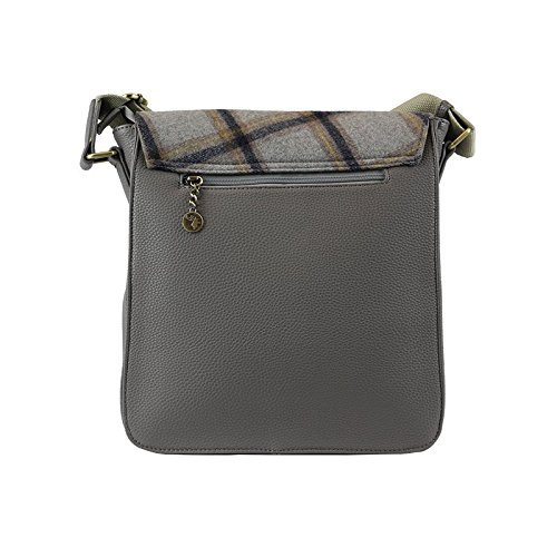 Messenger Grey Tweed Tweed Bag Bag Tweed Messenger Grey Tweed 7qHPw