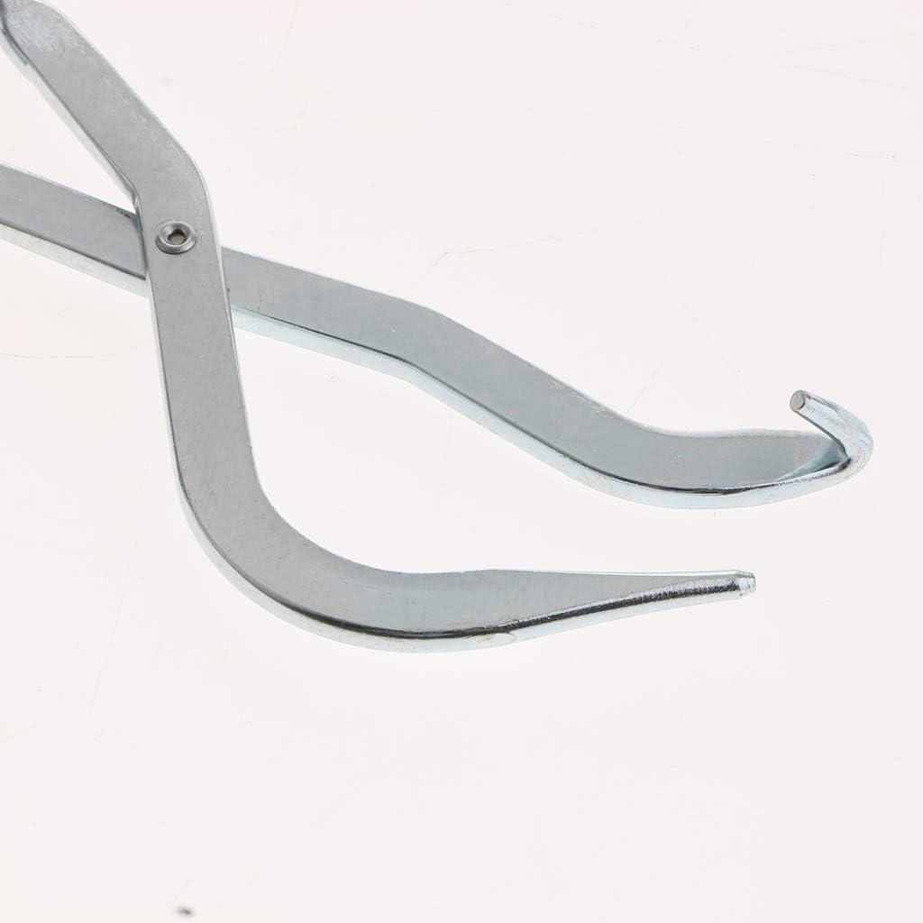 310 mm Silber B Baosity Premium Bremsfedernzange Trommelbremse Zange Bremsseil-Federnzange