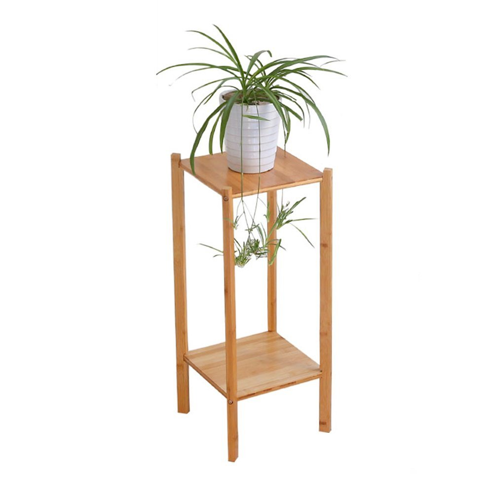 CSQ Indoor Plant Stand, Multilayer Creative Solid Wood Flower Pot Frame Floor Place Shelf Family Office Meeting Room Firm (Size : 272765CM)