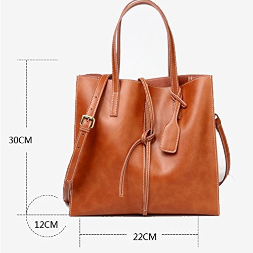 One Bag Ladies Shoes Leather Handbag TYJH Shoulder Practical Simple And dXqHwxdP1n