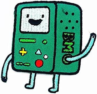 Rabana Robot BM Robot Robot Juego Gameboy Robot Fantasía Robot Cartoon Kids niños Cute Animal parche para DIY Apliques hierro en parche camiseta parche Sew iron on bordado Badge Sign disfraz: Amazon.es: