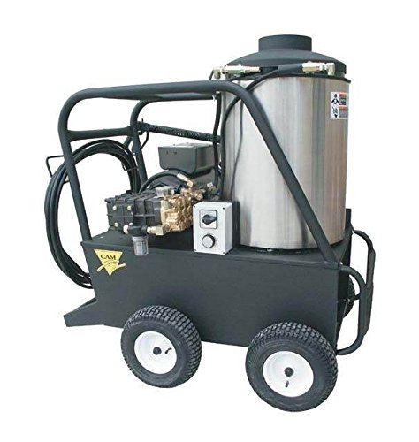 (Cam Spray 3000QE Q Series Portable Diesel Fired Electric Powered Hot Water Pressure Washer, 3000 psi, 50' Hose)