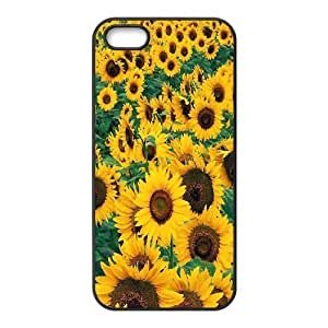 Case For Sam Sung Galaxy S4 Mini Cover Cases Sunflower, Case Stevebrown5v - Black