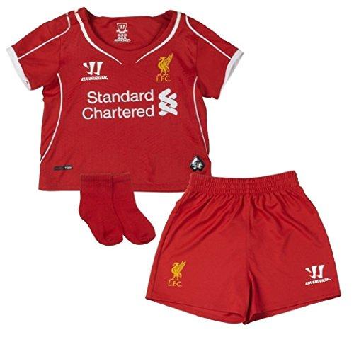 静かにぴったり細分化するWarrior Liverpool Home Infant Set 2014/サッカーユニフォーム リヴァプールFC ホーム用 子どもむけ