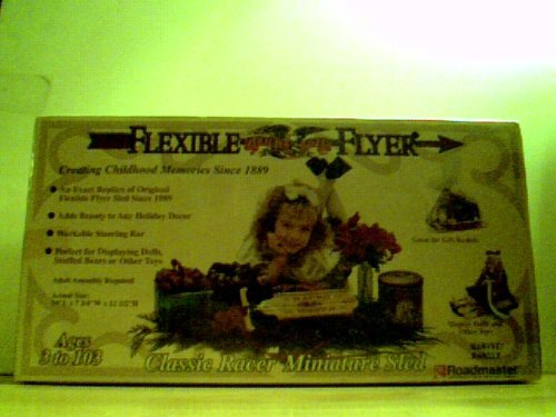 Flexible Flyer - Classic Racer Miniature Sled 14