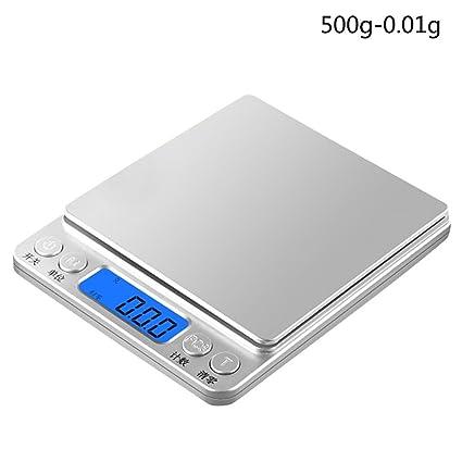 Báscula electrónica Peso digital, jaminy de precisión digital cocina para Oro Joyas Peso electrónico Escala