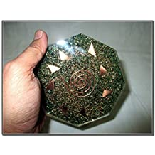 Jet New Green Mica Orgone Vastu Plate Free Booklet Jet International Crystal Therapy Energy Generator Crystal Gemstones Unique Rare Science Construction Vedic Astrology Wealth Health Cosmic Intelligence Five Elements Copper Metal Mix Rare Healing Positive Energy Tetrahedron Sacred Feng Shui Geometry Memory Concentration Meditation Spiritual Psychic Piezo Electric Effect Business Prosperity Success Destress Anxiety Disorder Love Power Mental Peace