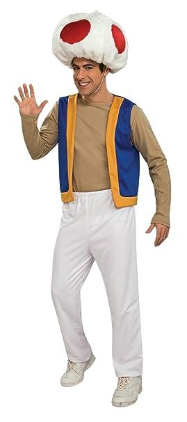 Rubies 889279STD - Disfraz de Toad para hombre (adulto)