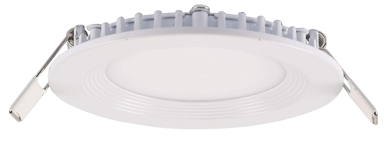Facon 6Inch 12V LED Recessed Light Slim Panel Light RV Puck Light, 15W 950 Lumens Genesis Lighting Co Ltd