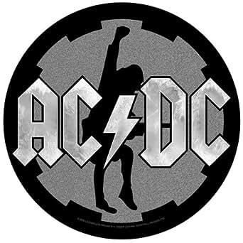 Amazon.com: XLG AC/DC Cog Logo Silhouette Angus Young