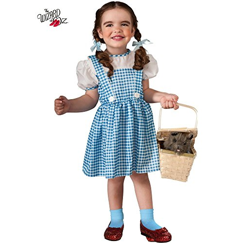 [R11812 (2-4) Dorothy Toddler Costume Tiny Tykes Dorothy] (Baby Dorothy Costumes)