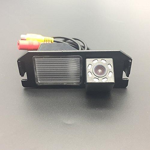 LEDs Car Rear View Camera for Hyundai Elantra Touring / Hyundai i30 / Hyundai Coupe S3/Tuscani/Tiburon Hyundai Genesis & HD CCD Night Vision Waterproof and Shockproof Reversing Backup Camera (8 LED) Review