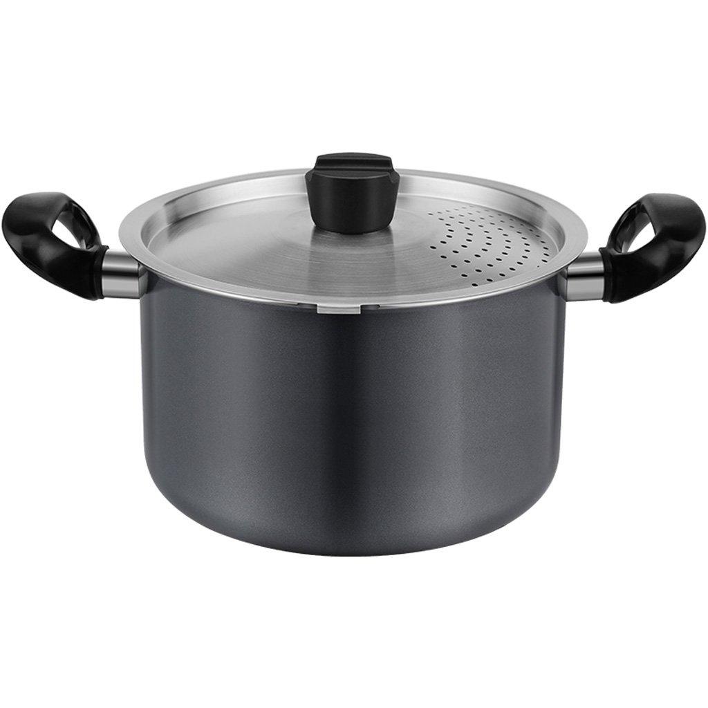 Soup pot 304 Stainless Steel Pot Non-stick Pan Household Multifunctional Soup Pot Gas Cooker Universal 22 Cm