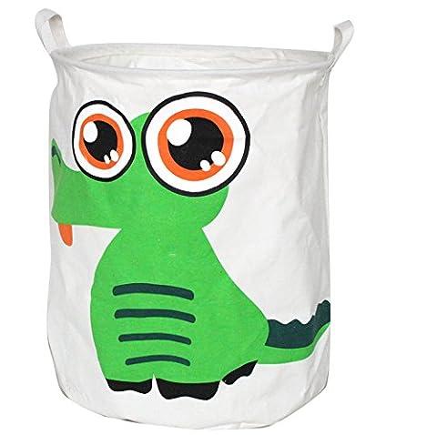 Premium Decor FLB-310 Fabric Foldable Canvas Laundry Basket - Divine Mesh