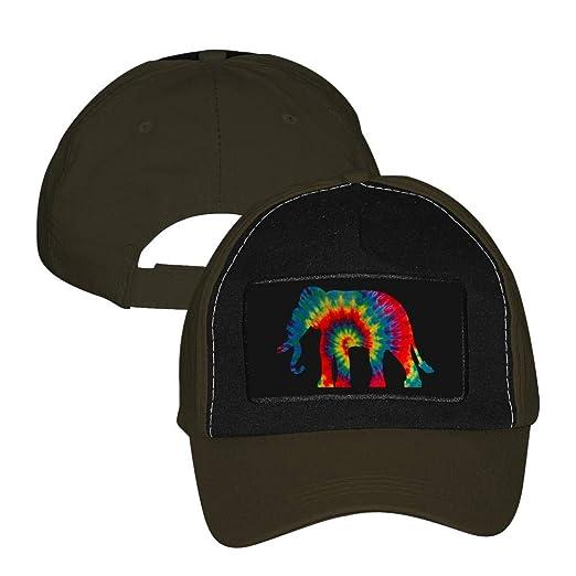 Unisex Adjustable Baseball Cap Style Elephant Trucker Hat Sports Mesh Hat  Army Green f5fafad297d