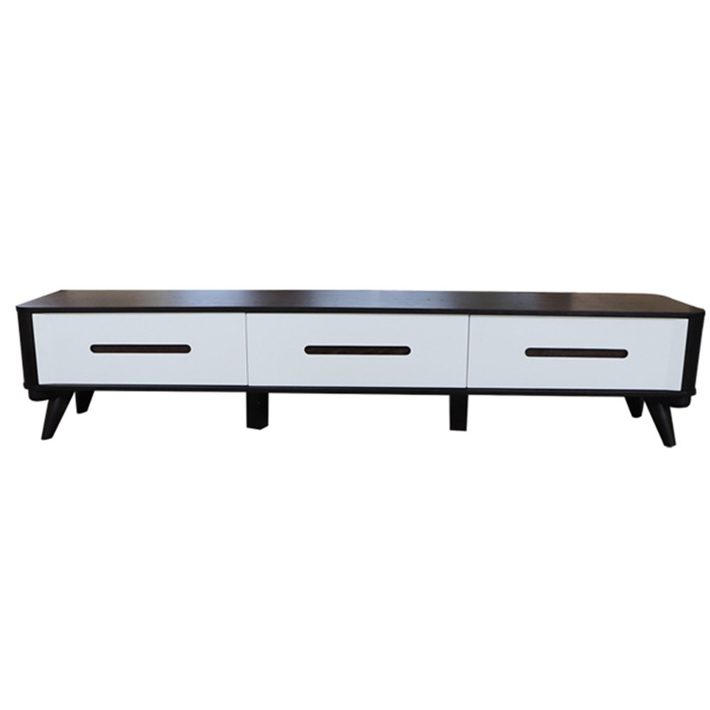 Rongda Home Customized Furniture, Moden Series High Gloss Solid Wood Cabinet Veneer Corner TV Stand Table Living Room