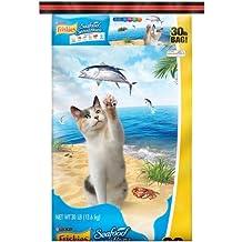 Purina Friskies Seafood Sensations Dry Cat Food, 30 lb