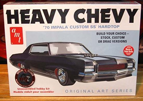 Chevy Impala Models - AMT 895/12 AMT 1/25 1970 Chevy Impala Heavy Chevy Orig Art Series