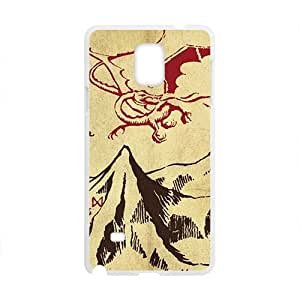 Unique mountain and red dinosaur Cell Phone Case for Samsung Galaxy Note4