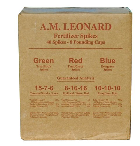 A.M. Leonard 8-16-16 Tree Food Stakes For Fruit and Ornamental Trees - Fruit Tree Stake