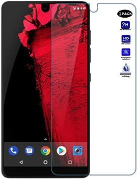 XMTN Essential Phone,Essential PH-1,A11 Protector de Pantalla,0.3mm Dureza de Grado 9H Protector de Pantalla de Vidrio Templado Cristal Protector para Essential Phone PH-1 Smartphone (1 Pack): Amazon.es: Electrónica