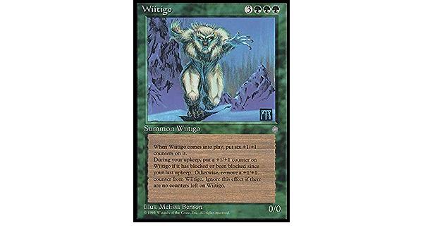 MAGIC THE GATHERING ICE AGE GREEN WIITIGO