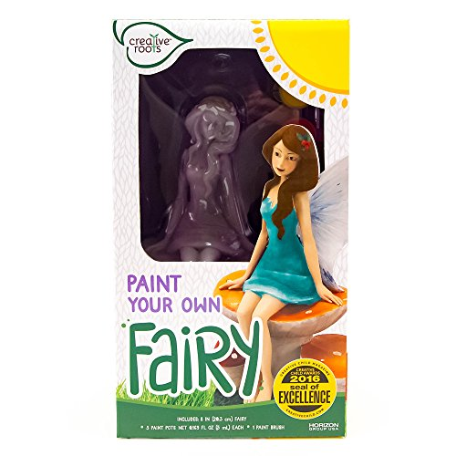 Dolls Own Fashion (Creative Roots Paint Your Own Fairy by Horizon Group USA)