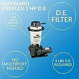 Hayward W3EC40C92S Perflex 1 HP D.E. Filter Pump